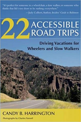 22 Accessible Road Trips front book cover