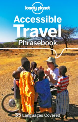 Lonely Planet's Accessible Travel Phrasebook book cover
