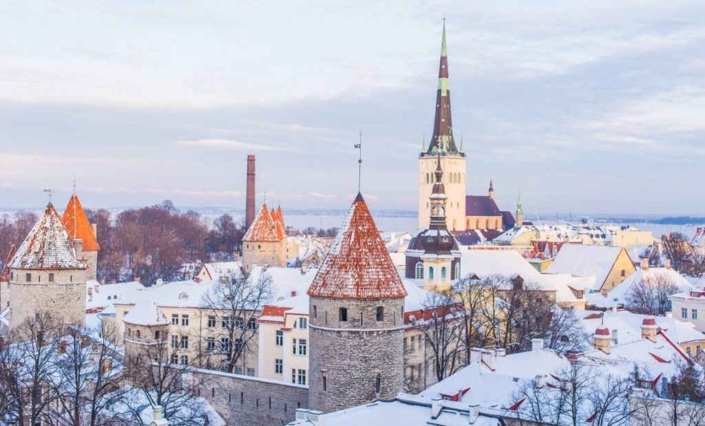 Tallinn in Estonia