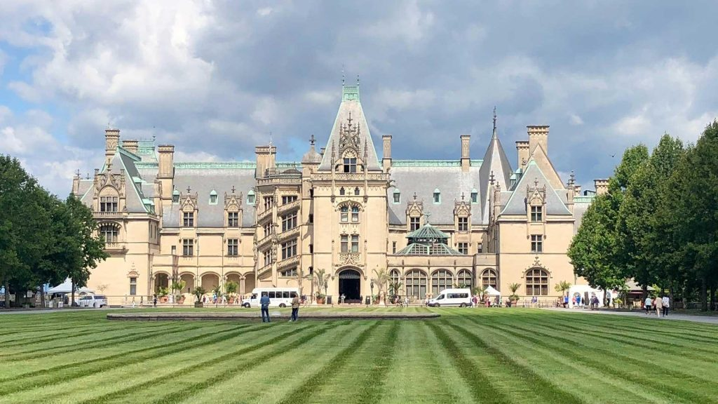 Biltmore House in North Carolina