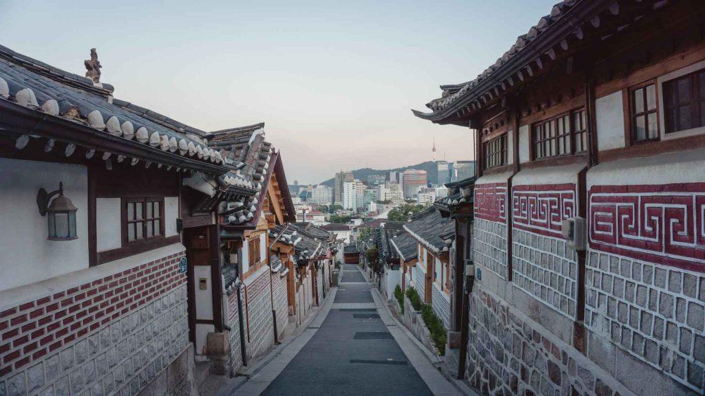 Street in South Korea
